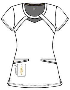 Stylish Scrubs, Lab Coats, Nursing Dress, Scrub Tops, Princess Seam, Signature Logo, Costume, Shirts, Style
