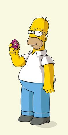 Homer Simpson (The Simpson) Simpsons Drawings, Simpsons Tattoo, Simpsons Art, Cartoon Drawings, Easy Drawings, Cute Wallpaper Backgrounds, Cartoon Wallpaper, Cute Wallpapers, Homer Simpson Drawing