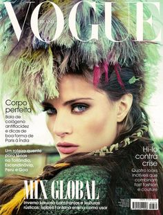 Vogue Brasil June 2009 - Isabeli Fontana,   Jacques Dequeker