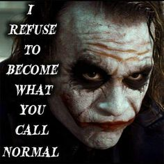 """Is there """"normal?"""" Don't think so"""