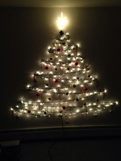 How to recycle wall christmas trees christmas decorations christmas tree on the wall different decor aloadofball Choice Image