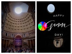 Gamma day in the Pantheon