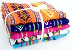 Aztec fabric, Mexican Fabric Bundle, tribal fabric by the yard,colorful tribal fabric by the yard.