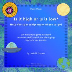 Your younger students will love watching the spaceship fly to the moon or to earth when they choose the correct answer on this interactive PowerPoint. (It also works well with Smartboards).