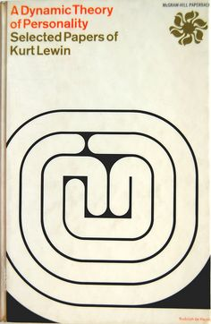 (design by Rudolph de Harak) A Dynamic Theory of Personality:  1959