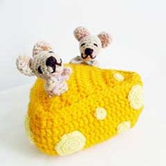 Cheese Lovers amigurumi crochet pattern by Ahmaymet