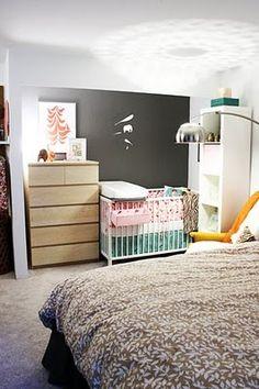 Combo master bedroom/nursery