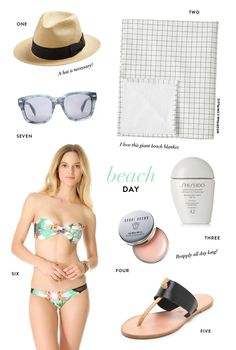7 Items for a Beach Day