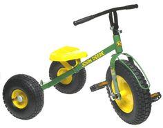 John Deere Mighty Trike tricycle.
