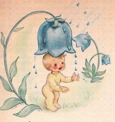 Vintage Baby Greeting Cards - Bing Images