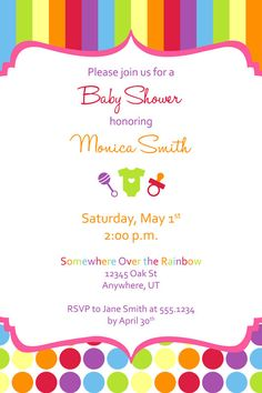 Coed Baby Shower Invitations is best invitation template