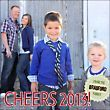 Cheers Seal Holiday Photo Card | Paper Source