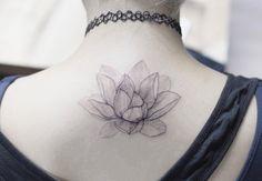 Elegant lotus flower by Tattooist Flower