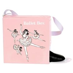 My girlhood ballet box...I can buy one at amazon, but I doubt it will fit my size 11 1/2 tap and ballet shoes!