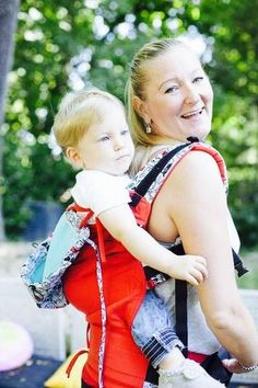 NANA WEAR x Maraya baby carrier -red-dog – NANA wear
