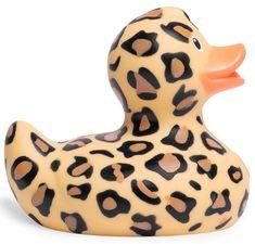 Mini Luxury Bud Duck - Leopard