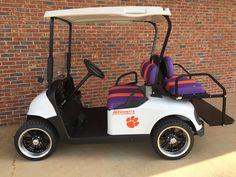 Custom Clemson Collegiate Golf Cart