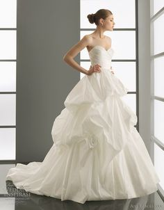 aire barcelona wedding dresses 2012