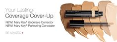 NEW Mary Kay® Perfecting Concealer and NEW Mary Kay® Undereye Corrector you're gonna LOVE THEM !