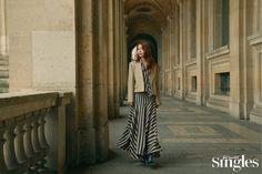 Yoo In Na in Singles November 2019 Yoo In Na, Latest Fashion, Duster Coat, Photoshoot, Actresses, Celebrities, Skirts, Jackets, Beauty