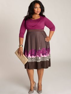 We have crafted a bold yet romantic floral-print dress, sure to make you shine at any occation.