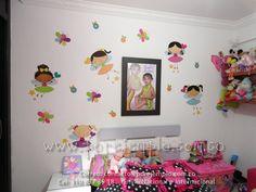Decoraciones para cuartos infantiles.  www.porejemplo.com.co