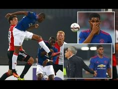 Rashford endures frustrating night during Man United's defeat against Fe. Football Latest, Man United, The Unit, Baseball Cards, Night, Music, Youtube, Sports, Faith