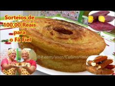 Bolo de Batata-Doce e Macaxeira Sem glúten SORTEIOS de 100,00 Reais para...