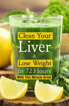 Lemon, Parsley and Celery To Clean Your Liver