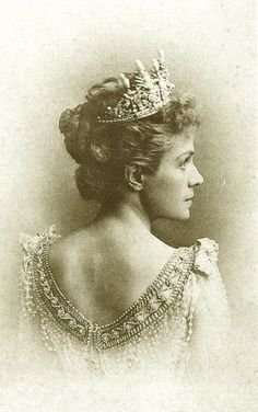 Infanta Eulalia of Spain, duchess of Galliera. 1900s