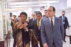Presiden Prancis Hollande dan Menteri Susi, Sepakat Lindungi Laut – JakartaGreater