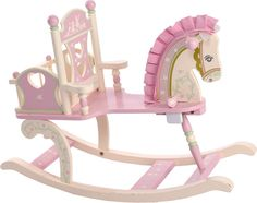 Such a cute and unique rocking horse
