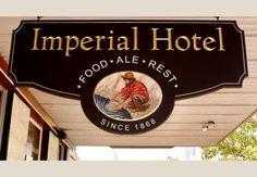 Imperial Hotel Pub Sign | Danthonia Designs