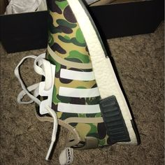247157c0e Shop Men s bape Green Tan size Athletic Shoes at a discounted price at  Poshmark. Open to offers and price negotiable as well