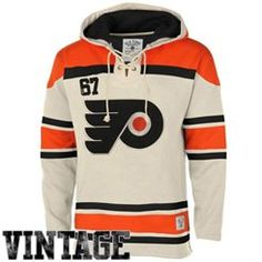 Old Time Hockey Philadelphia Flyers Stone Home Lace Heavyweight Hoodie  Men s Hockey d14abf5c09d