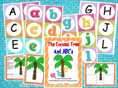 FREE alphabet activities for Chicka Chicka Boom Boom.