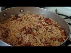 Haitian recipies website. How to cook Haitian rice!