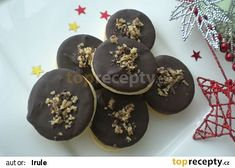 Margotková kolečka recept - TopRecepty.cz Christmas Sweets, Christmas Candy, Christmas Baking, Baking Recipes, Cookie Recipes, Czech Recipes, Holiday Cookies, Graham Crackers, Food Hacks
