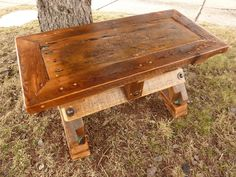Awesome barn wood table