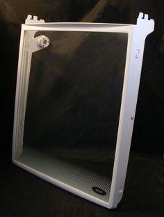240355207 Frigidaire Refrigerator Spill Safe Cantilever Glass Shelf