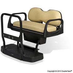 CLUB CAR DS GOLF CART REAR SEAT KIT 5-IN-1 DELUXE - STAR  Shared by www.blockbustergolfcarts.com