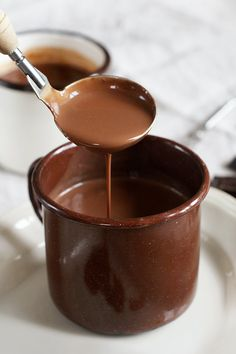 Hot Chocolate with Coffee. Hot chocolate with coffee. (In Polish) Fruit Recipes, Brunch Recipes, Cocktail Recipes, Cake Recipes, Dessert Recipes, Polish Breakfast, Chocolate Coffee, Smoothie, Good Food
