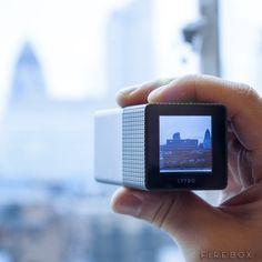"Lytro Light Field Camera / The Lytro Light Field Camera will allow you to refocus pictures ""after"" you take them. http://thegadgetflow.com/portfolio/lytro-light-field-camera/"