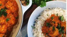 Nadiya Hussain's easy chicken tikka masala with basmati rice Indian Food Recipes, Dog Food Recipes, Chicken Recipes, Cooking Recipes, Nadiya Hussain Recipes, Easy Chicken Tikka Masala, Indian Dishes, Savoury Dishes, Curry Recipes