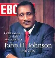 John H. Johnson was born June 19, 1918. Mr Johnson was an African American businessman and publisher. He was the founder of Johnson Publishing Company (the Editor & Publisher of JET & Ebony magazines). Johnson Publishing Company was the most successful African American publishing company in the United States. In 1982, he became the 1st African-American to appear on the Forbes 400. Mr Johnson was ALSO the CEO of Fashion Fair cosmetics & the 1st African American owned radio station in Chicago.