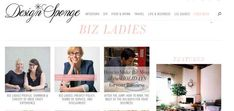 Design*Sponge Biz Ladies shows you how successful creative women got where they are today.