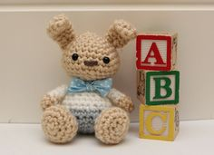 Bunny Free crochet pattern by Little Muggles