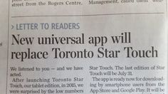 "The #TorontoStar, ""surprised by low numbers,"" is shutting down Star Touch, its expensive app. Use Reporter instead. http://www.niemanlab.org/2017/06/the-toronto-star-surprised-by-low-numbers-is-shutting-down-star-touch-its-expensive-tablet-app/?utm_campaign=crowdfire&utm_content=crowdfire&utm_medium=social&utm_source=pinterest"