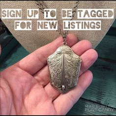 Sign Up For New Listings Sign Up To be tagged when new listings (vintage, Brighton, etc)  are posted. If you want to be notified of something specific please let me know which item. Be the first to see the fabulous pieces this closet has to offer. Please comment or like this post to be notified. Thanks for your interest. ❤️❤️❤️ Vintage Jewelry