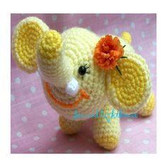 Instant Download Crochet PDF Pattern  Elephant